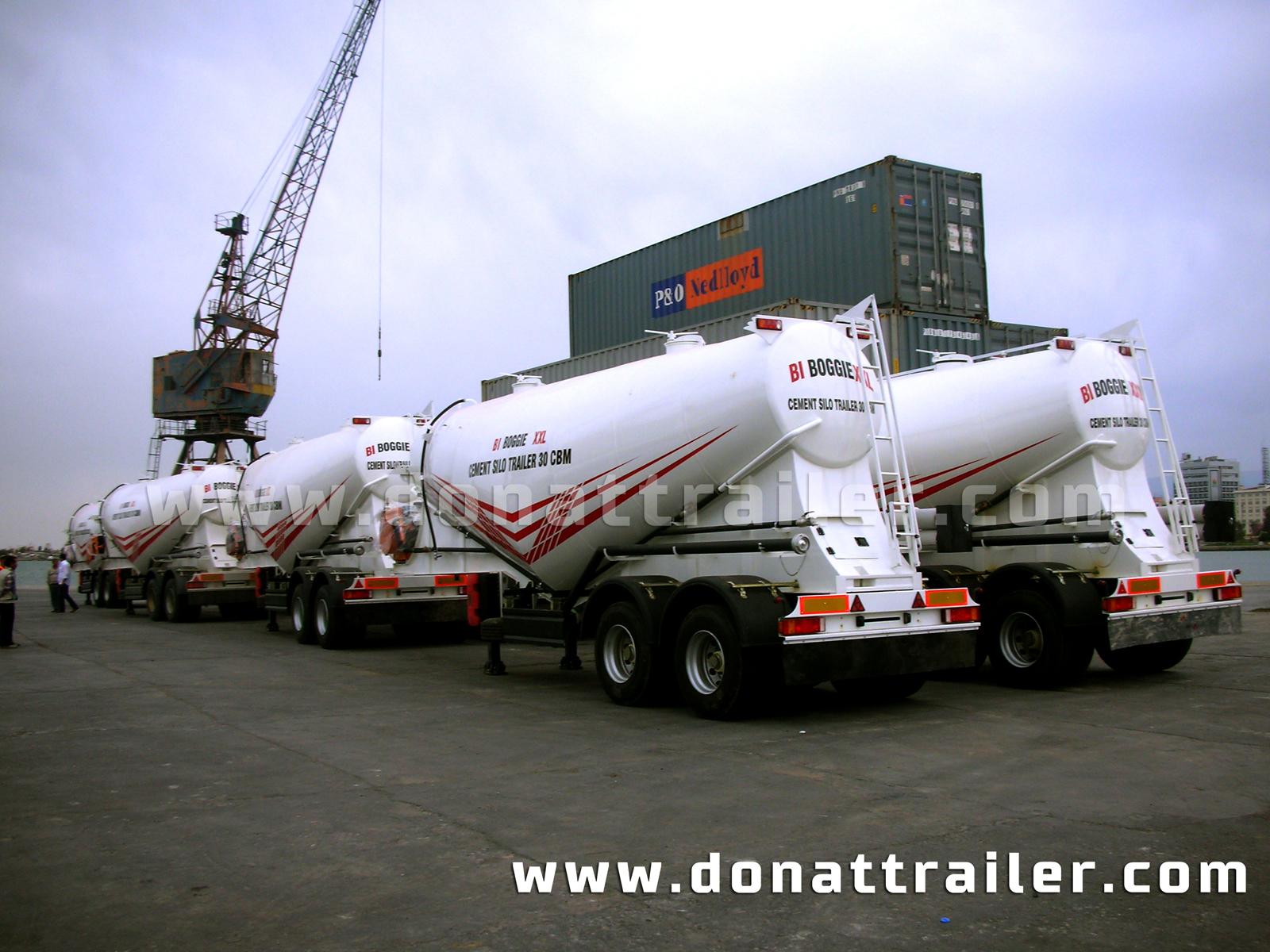 Cement Trailer 2 Axle