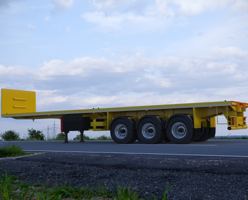 Flat Bed Semi Trailer 7