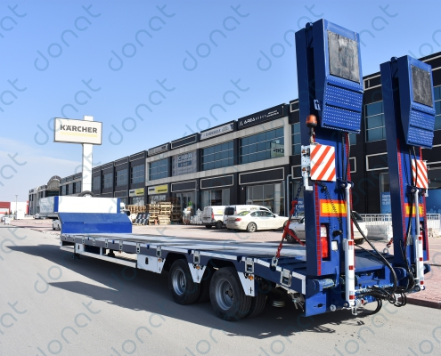 2 Axle Lowbed Semi Trailer