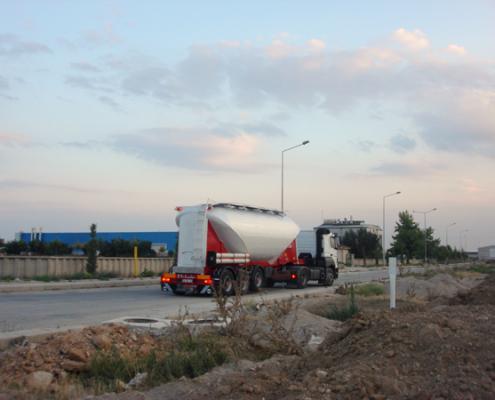 milenium cement trailer