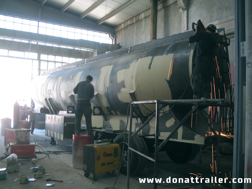 Tank Trailer Producing