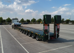 7 Axle Lowbed Semi Trailer