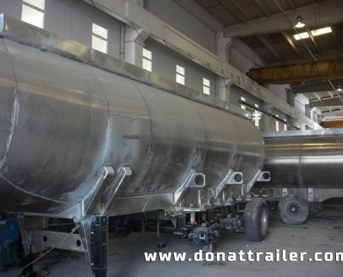 Aluminium Fuel Tanker Manufacturer