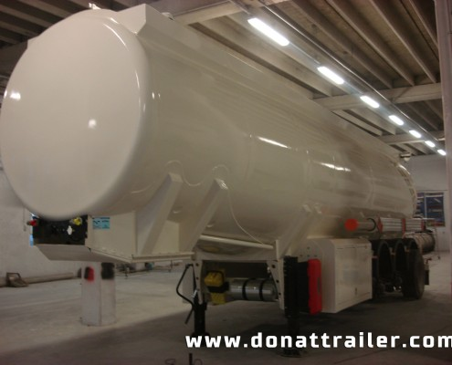 Aluminium Fuel Tanker