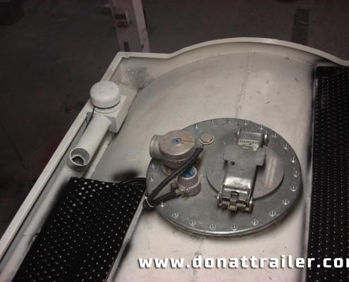 Aluminium Fuel Tanker Covers