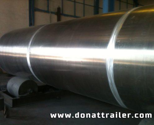 Aluminium Tanker Body