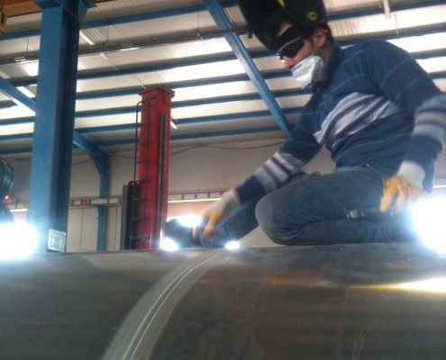 Aluminium Tanker Welder