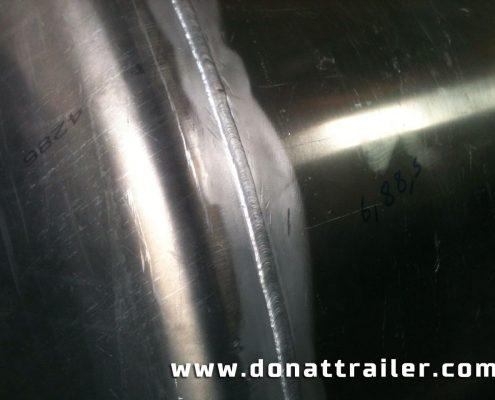 Aluminium Tanker Body Welding