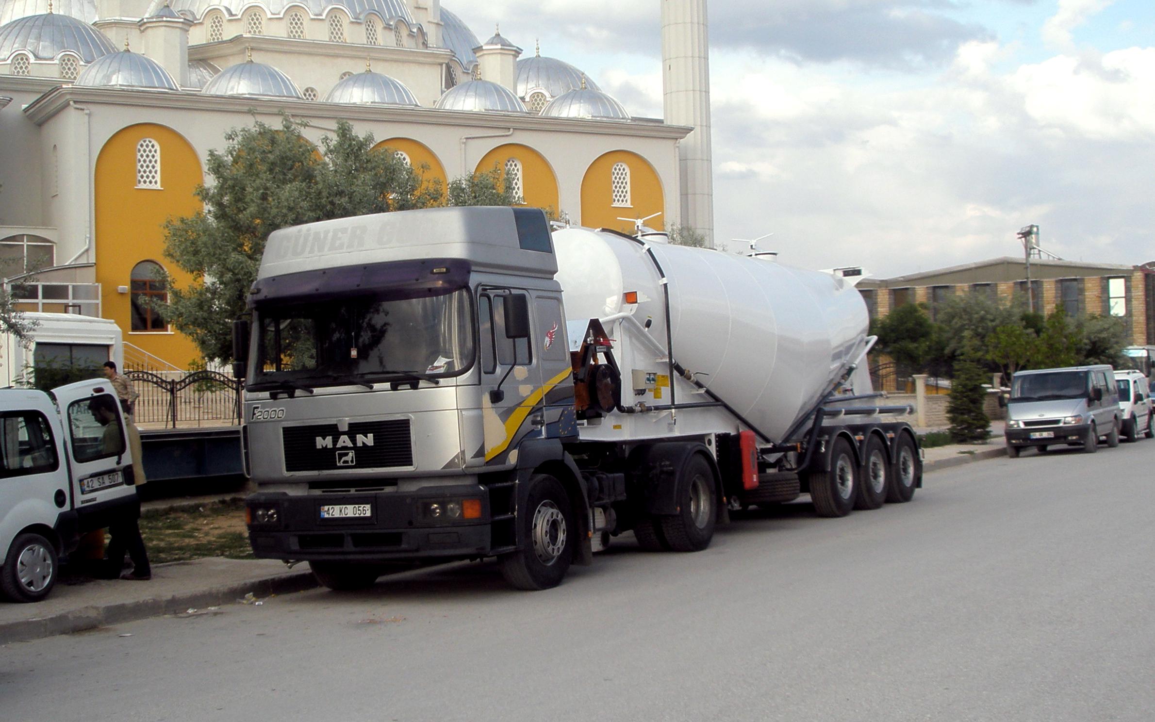 Cement Silo Trailers