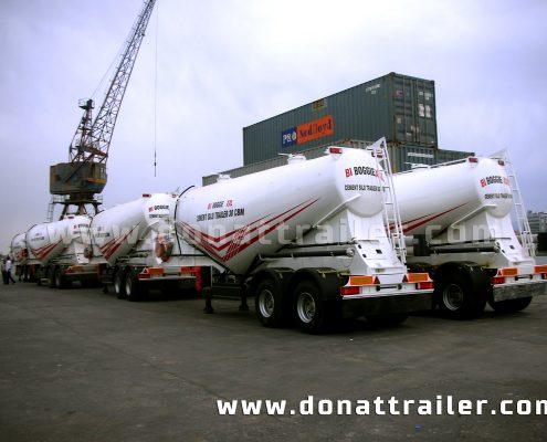 Cement Trailer boggie axle