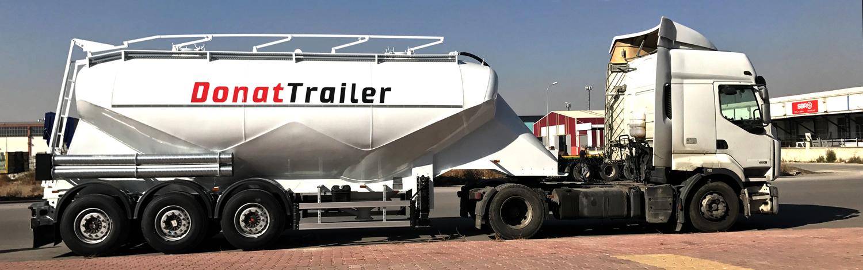 Slider Cement Silo Trailer