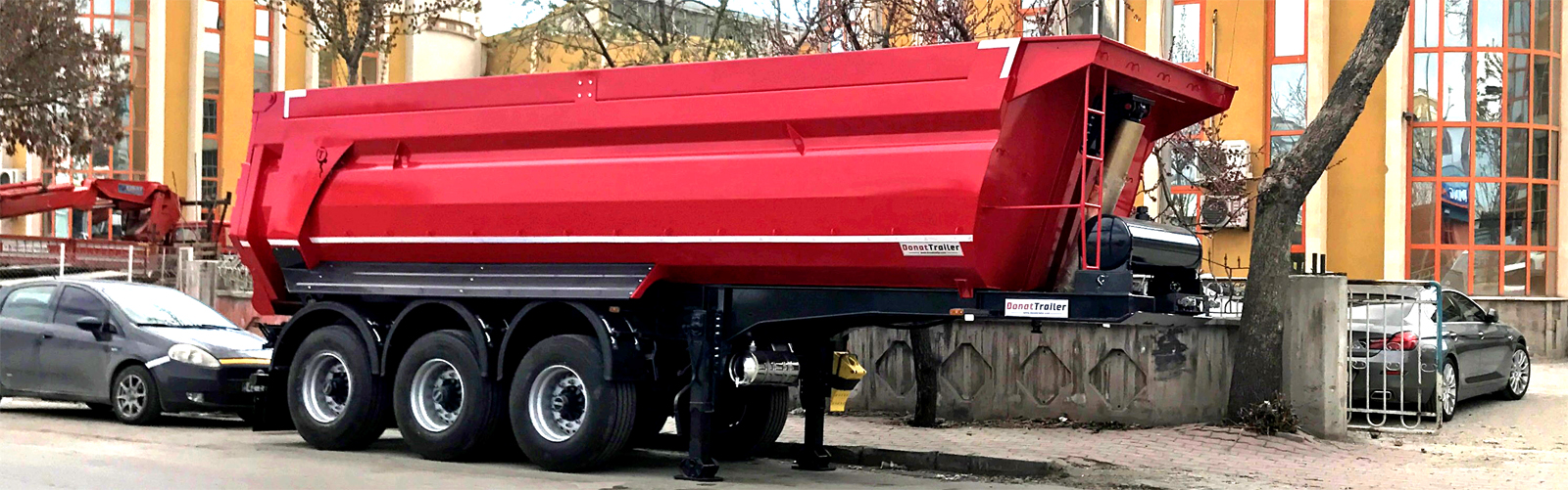 Slider Tipper Semi Trailer