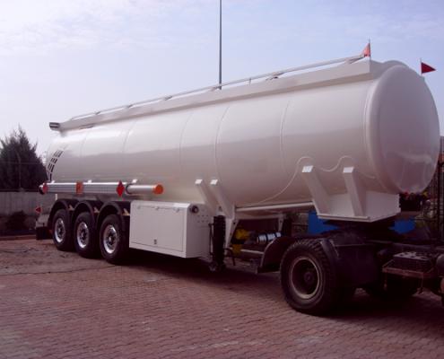 Aluminium Tanker Trailer