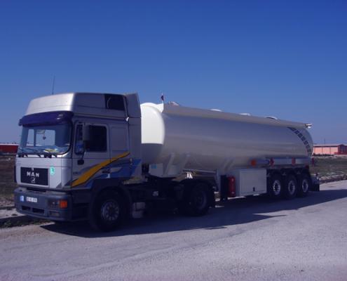 Tanker Semi Trailer