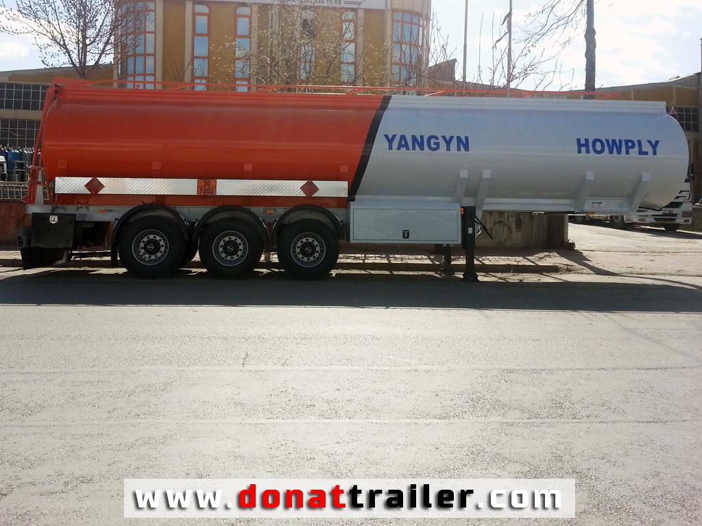 Tanker semi-trailer