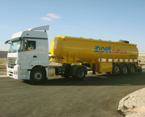 Tanker Trailer Yellow