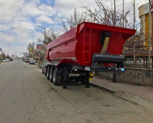 Tipper trailer donat